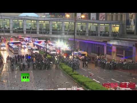 Protests in Hong Kong escalate
