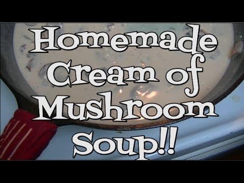 Homemade Cream Of Mushroom Soup Recipe Noreen S Kitchen Basics