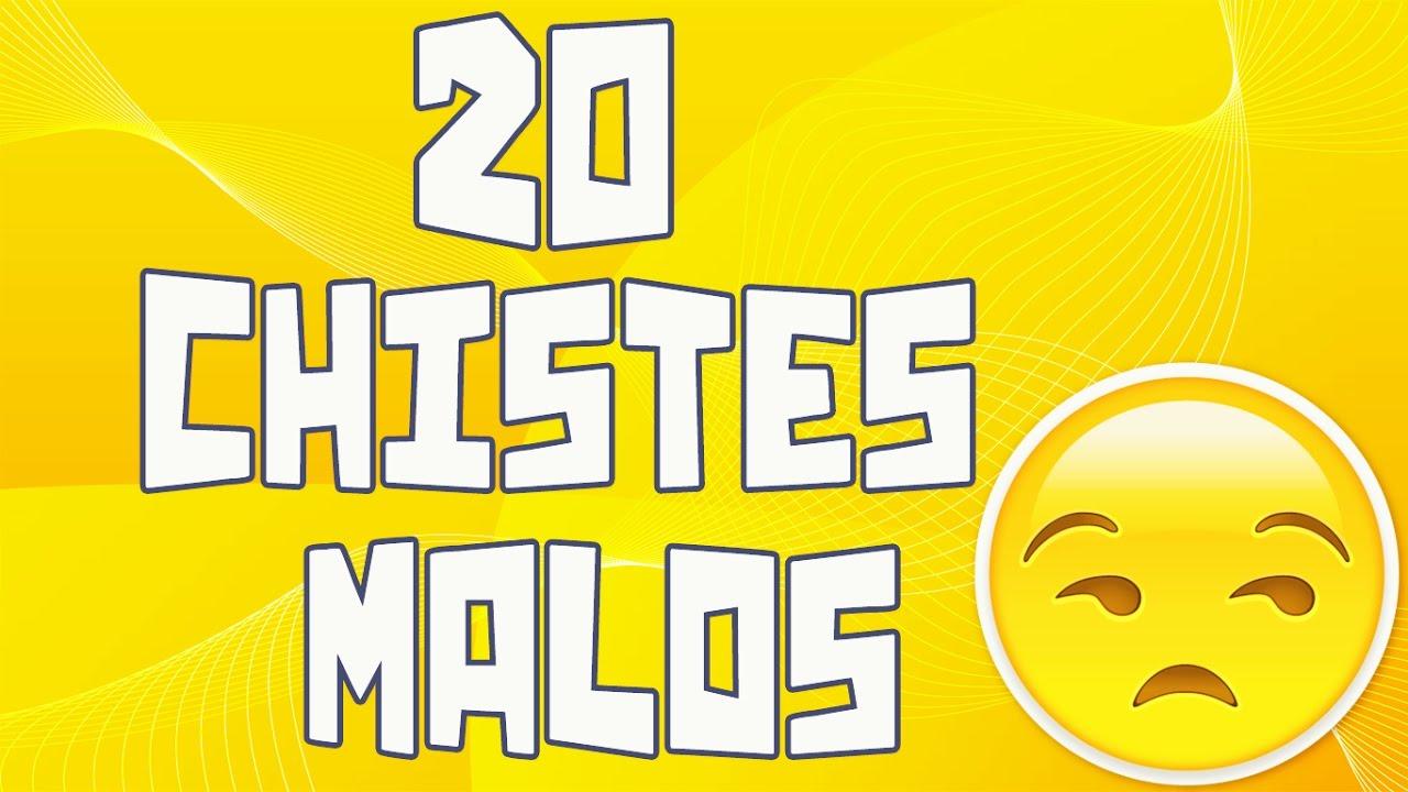 20 Chistes malos que te harán reír #5