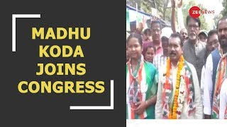 Ex-Jharkhand CM and coal scam accused Madhu Koda joins Congress