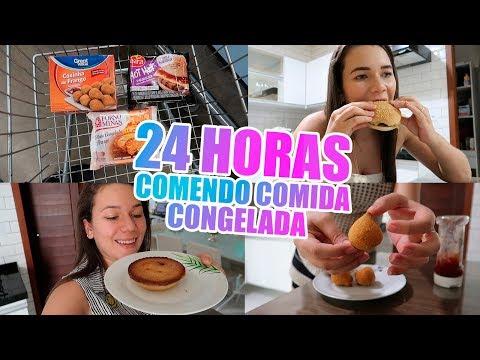 24 HORAS COMENDO COMIDA CONGELADA