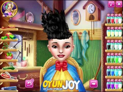 Pamuk Prenses'in Saç Bakımı Oyunu Nasıl Oynanır /Snow White's Hairdresser Gameplay