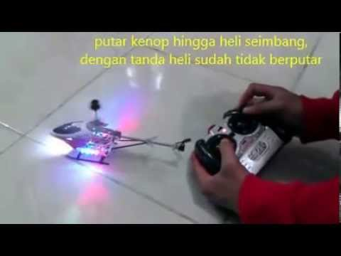 Cara Main Rc Helikopter Mini Hx703 Youtube