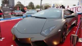 Lamborghini Reventon - Abu Dhabi Al Hilal Bank Car Show!!! 2017 Video
