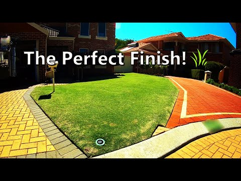 Mowing A Lawn Professionally In Perth, Australia