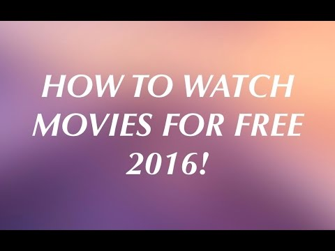 HOW TO WATCH MOVIES FOR