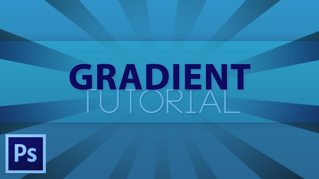 how to add gradient photoshop