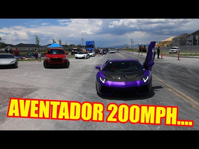 Testing the TOP SPEED of my Lamborghini Aventador!