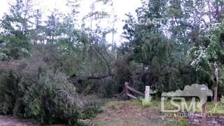 9/1/14 Johannesburg, MI; Tornado Damage *James Brennan HD*