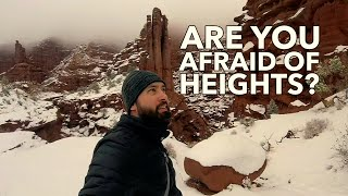 Fisher Towers Near Arches National Park - Travel Vlog