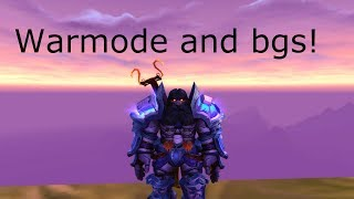 Warmode and bgs! Ret paladin pvp 8.1