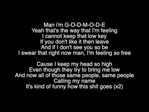 GODMODE - By: Ryan Caraveo (Lyric Video)