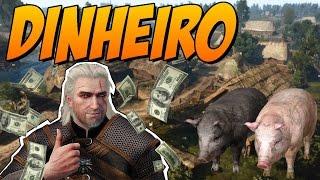The Witcher 3 - Dinheiro Infinito no Início do Jogo / Pomar Branco