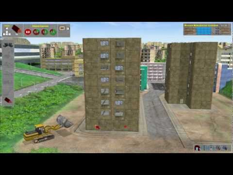 Let's Play Spreng Und Abriss Simulator [german][HD][012] Sprengen, Kippen, ökonomisch Sprengen...