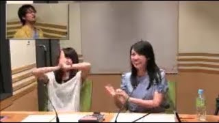 鷲崎健と大久保瑠美&三上枝織 「肌年齢まけてない(笑)」 三上枝織 検索動画 20