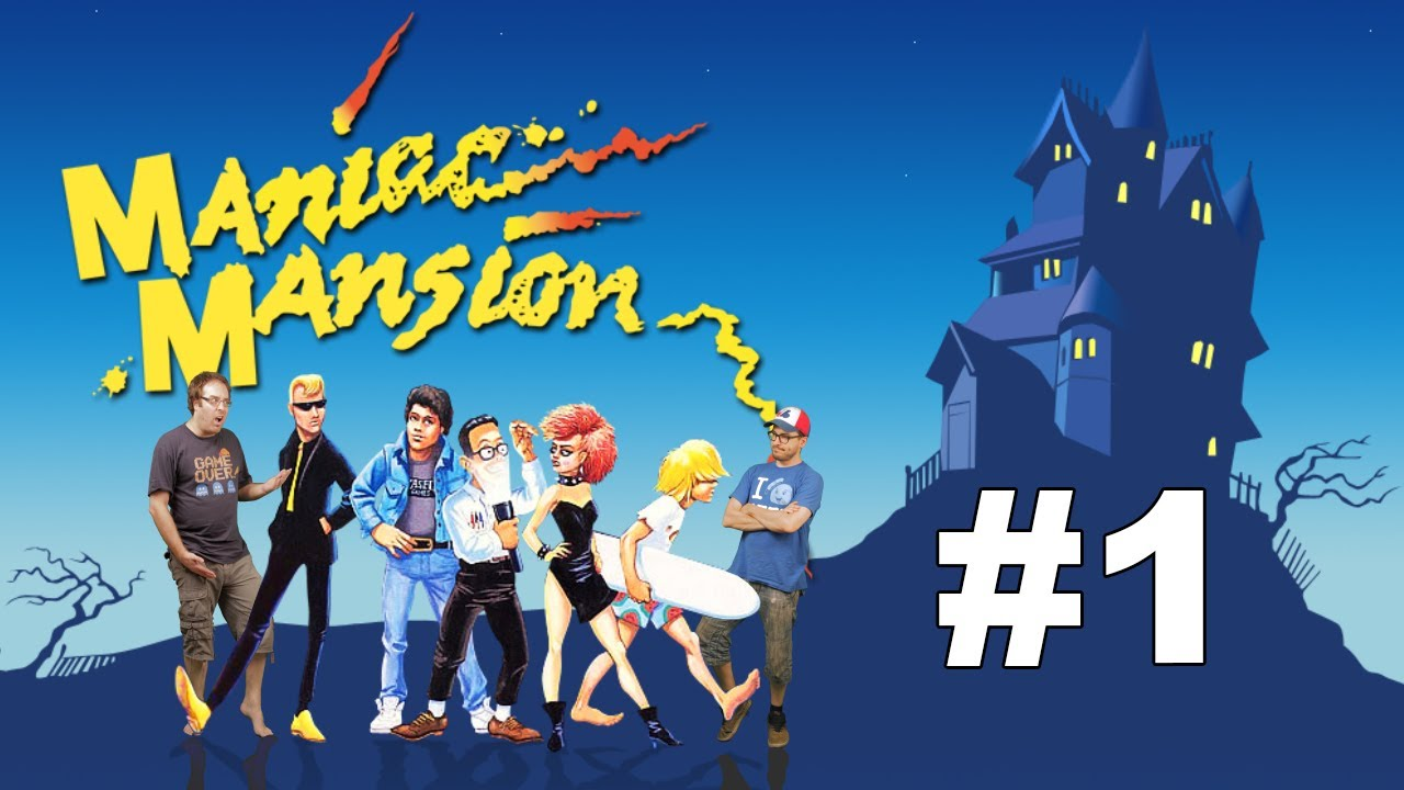 maniac mansion deluxe francais
