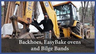Backhoes, Easy Bake Ovens and Bilge Bands - Acorn to Arabella