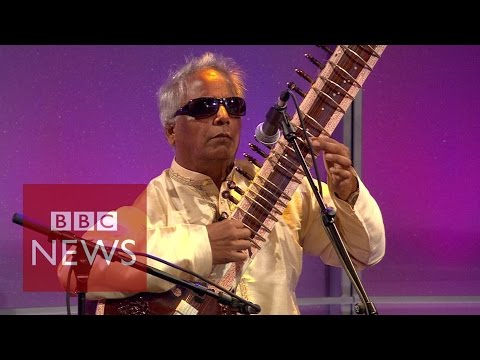 Blind musical group Inner Vision Orchestra on BBC News