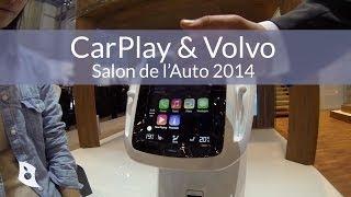 Salon de l'Auto de Genève 2014 - CarPlay & Volvo