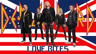 Def Leppard - Love Bites - Ultra HD 4K - Hits Vegas Live at the Planet Hollywood. 2019