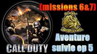 CoD classic missions 6 et 7 Walktrhough en français (campagne solo)