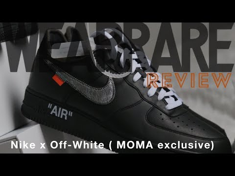 WEARRARE REVIEW   Nike x Off-White ( MOMA exclusive) - YouTube beac83388