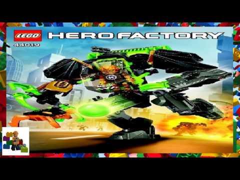 LEGO Instructions - HERO Factory - 44019 - ROCKA Stealth Machine