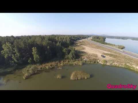 Квадрокоптер. Озеро Касли Челябинская область.