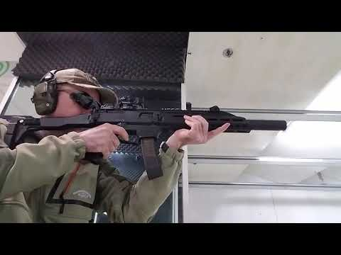 Shooting the CZ scorpion evo 3 S1
