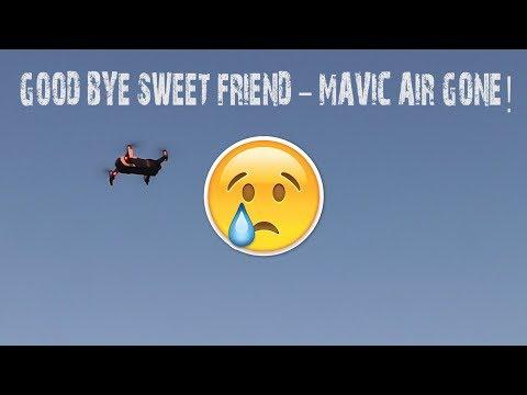 Ditching my DJI Mavic Air! Range Test FAIL!