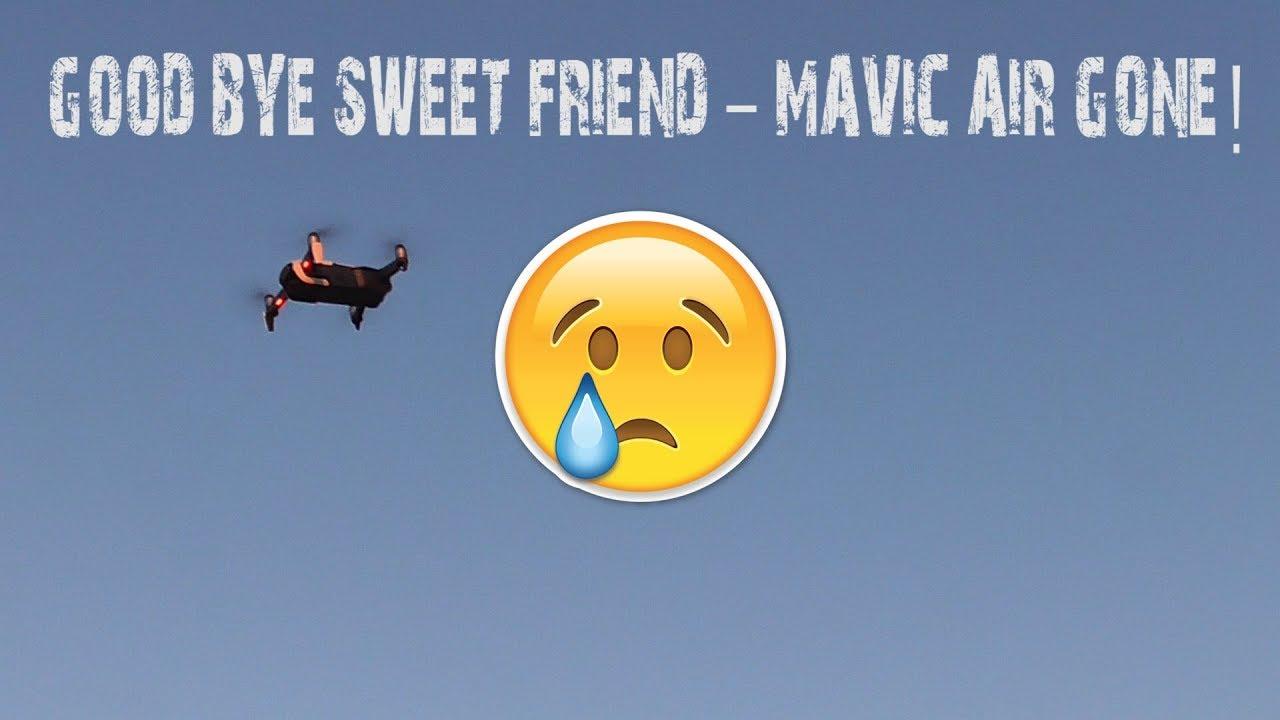 Ditching My DJI Mavic Air Range Test FAIL