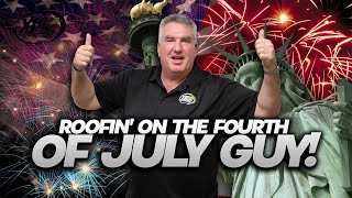 4th of July Roofing Services with Sean Your Roof Guy   XLR8 Roofing