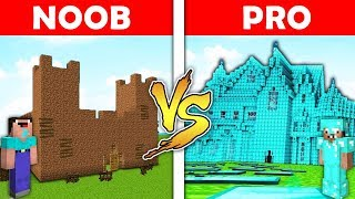 Minecraft Battle - NOOB vs PRO : CASTLE in Minecraft ! AVM SHORTS Animation