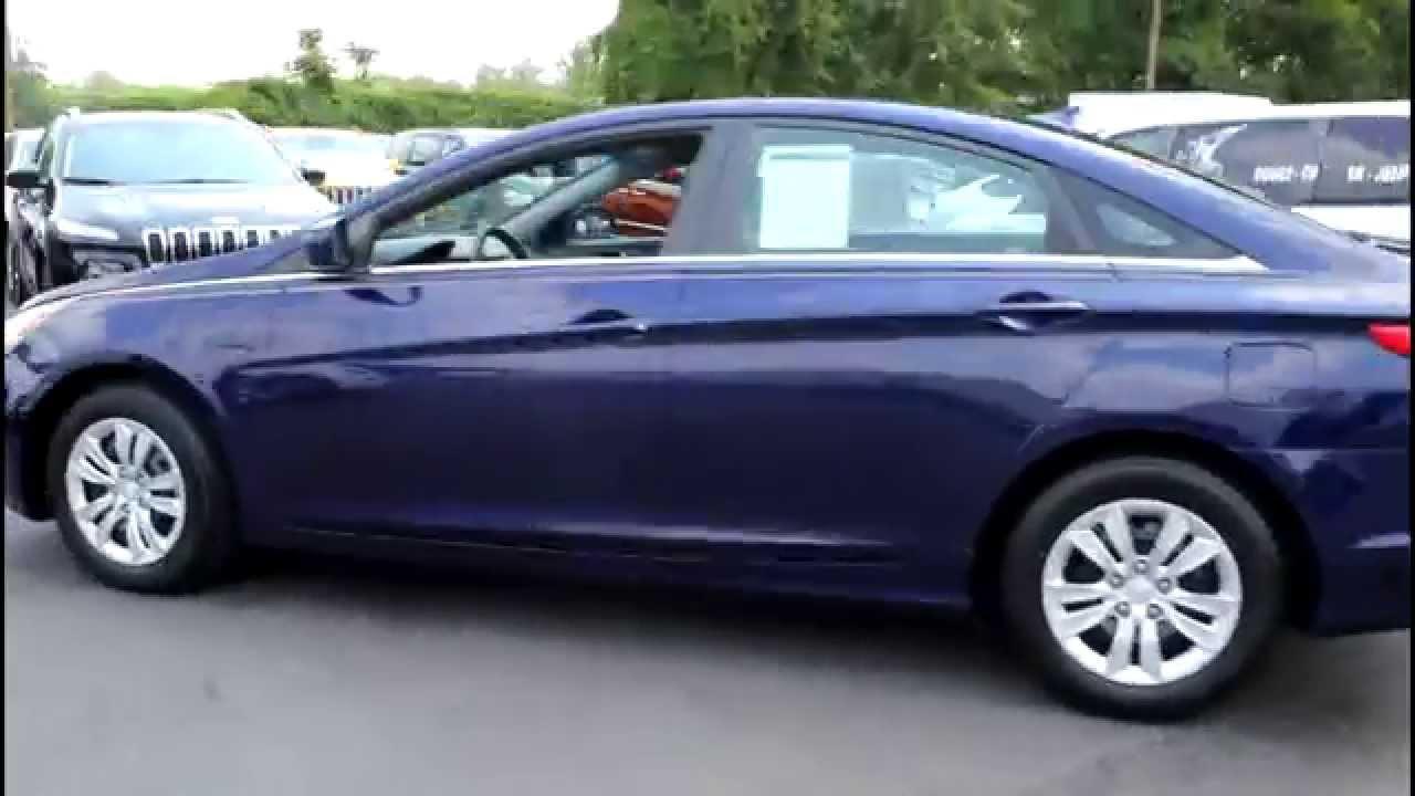 Pre Owned 2011 Hyundai Sonata Blue Youtube