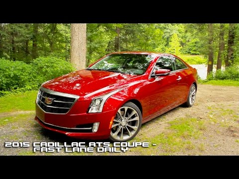 2015 Cadillac ATS Coupe Review Fast Lane Daily