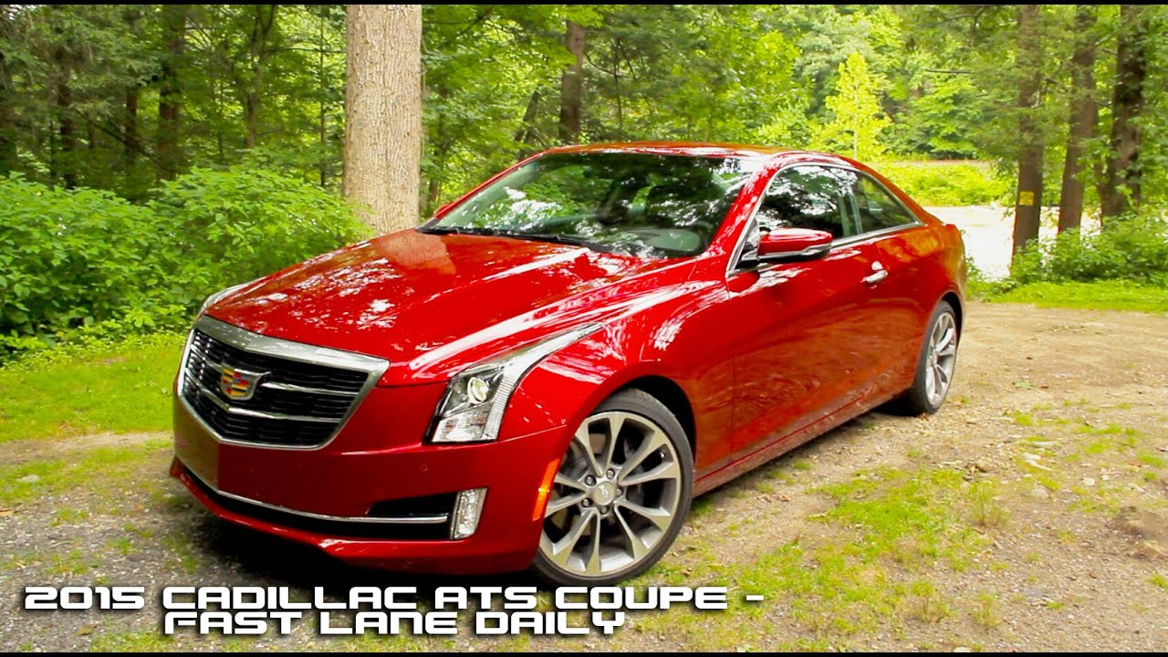 white review auto canadian collection ats reviews cadillac coupe performance front