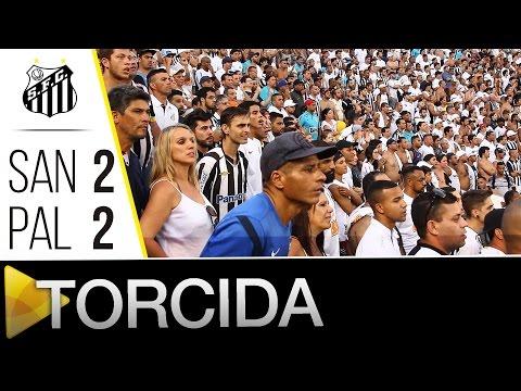 Santos 2 (3) x (2) 2 Palmeiras | A TORCIDA | Paulistão (24/04/16)