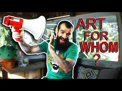 Art for People or Art for Yourself?? Cesar Santos vlog 034