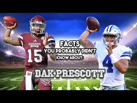 Dak Prescott: 20 Facts You Didn't Know