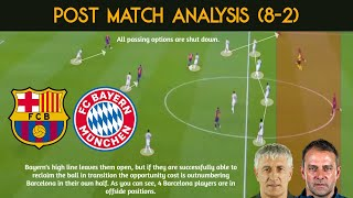 We provide tactical analysis over the barca vs. bayern match that ended up creating history as saw barcelona's largest defeat since 1946. munich co...