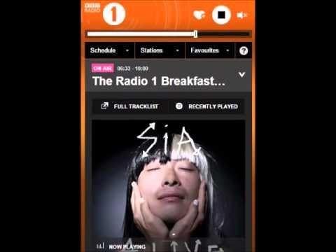 SIA - Full Interview 'BREAKFAST' radio BBC1 (08-12-2015)