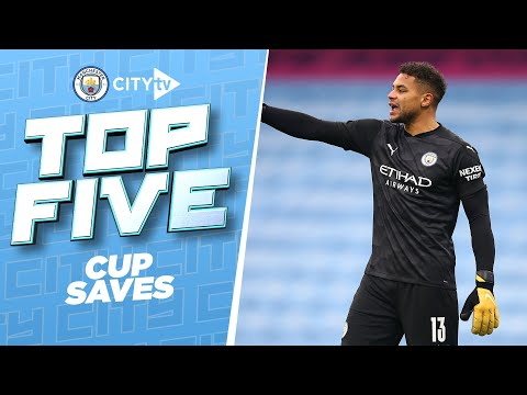 TOP 5 CUP SAVES!   Best of 2020/21