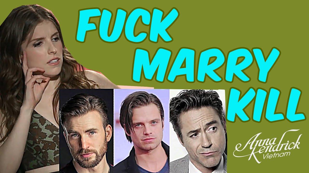 Anna Kendrick Playing FUCK, MARRY, KILL - YouTube