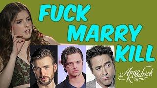 Anna Kendrick Playing FUCK, MARRY, KILL