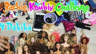 Barbie Kombin 4 Dk.Challenge!! Bidünya Oyuncak