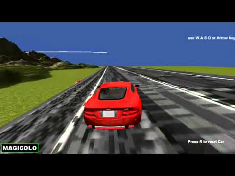 Just Car - Y8 3D free game made with Unity3D 2014