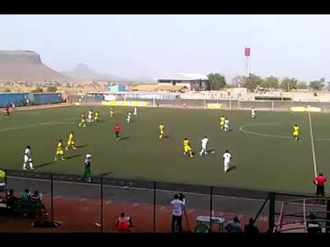 +DEFOOT : Le but de Daouda Kamilou (Coton Sport de Garoua) contre Aigle Royal de la Menoua (2-0)