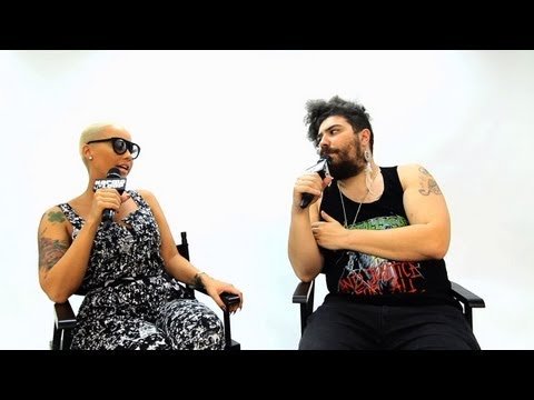 Amber Rose Cries During Interview - Fat Jew vs. Amber Rose