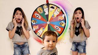 ROLETA MÁGICA Kids play magic spin wheel شفا خافت من عجلة السحرية !!  - Theo Comanda