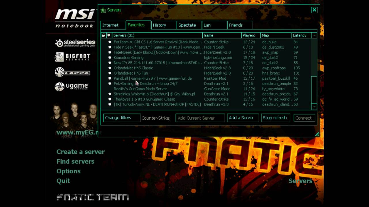 gui fnatic 2012 cs 1.6